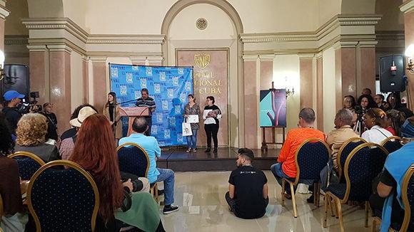 Entrega de los premios colaterales del 39 Festival de Cine de La Habana. Foto: Habana Film Festival