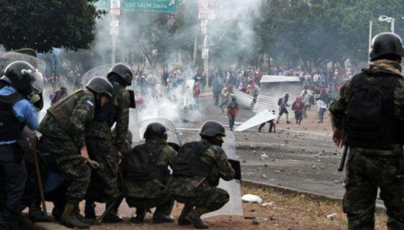 El Gobierno dispuso 10 días de toque de queda — Elecciones en Honduras