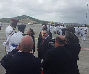 La VI Cumbre CARICOM-Cuba será copresidida por el presidente de CARICOM, el primer ministro, el Dr. Keith Mitchell, de Granada, y el presidente de Cuba, Raúl Castro. Foto: @RogelioSierra