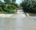 Se desborda el río Sagua de Tánamo en la madrugada del 11 de diciembre de 2017. Foto: ACN