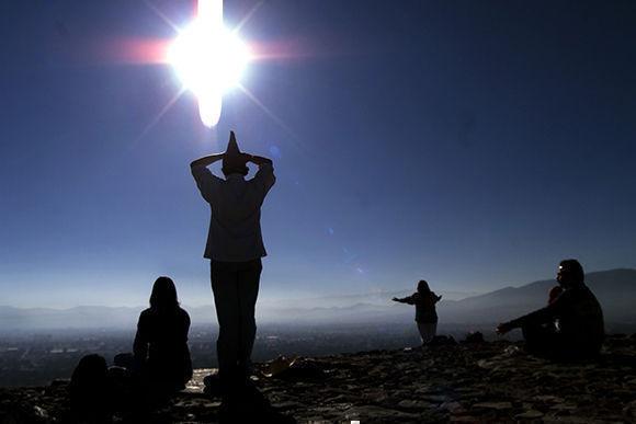 Solsticio de invierno en México. Foto: Guillermo Arias/ AP.