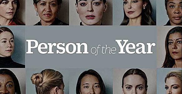 Portada de la revista TIME el 6 de diciembre de 2017.