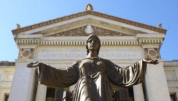 La Universidad de La Habana arriba a sus 490 años.