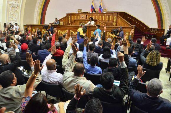 Asamblea Nacional Constituyente aprobó la Ley Contra la Guerra Económica