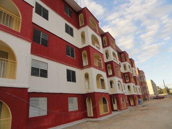 Edificio que en breve pasará a aumentar el fondo habitacional de la provincia. Foto: Magalys Chaviano Álvarez.