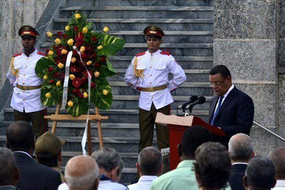 Concluye Presidente de Etiopía visita oficial a Cuba