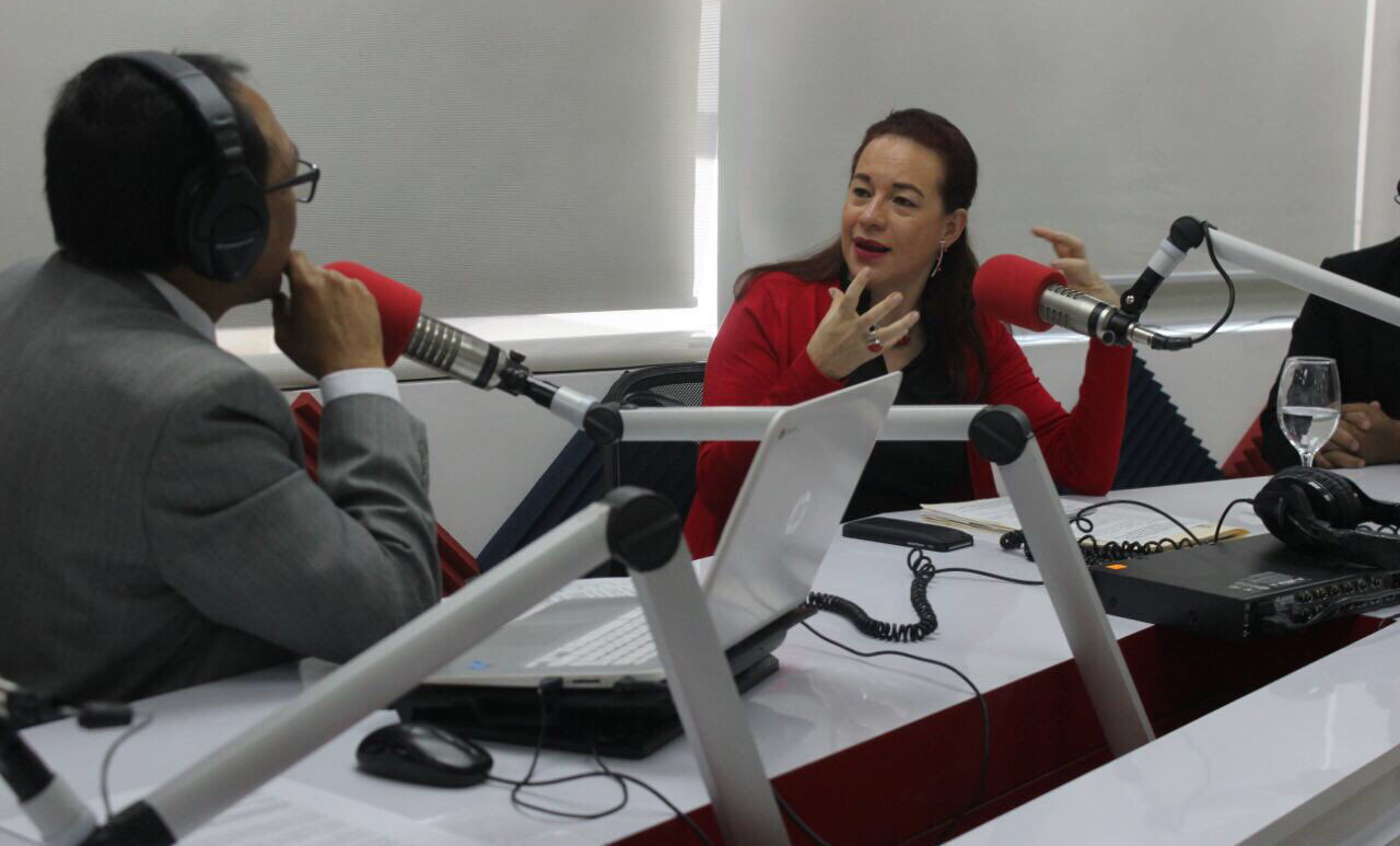La canciller ecuatoriana María Fernanda Espinosa. Foto: @mfespinosaEC/ Twitter
