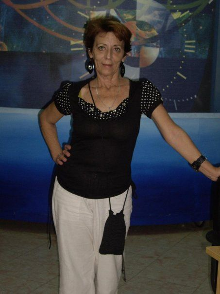 Maribel Puerto. Foto tomada de su perfil en Facebook.