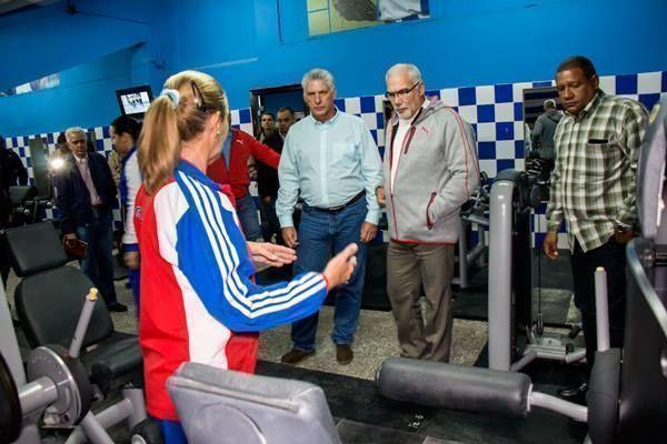 Preside Díaz-Canel inauguración de instalaciones deportivas en la capital cubana (+ Fotos)