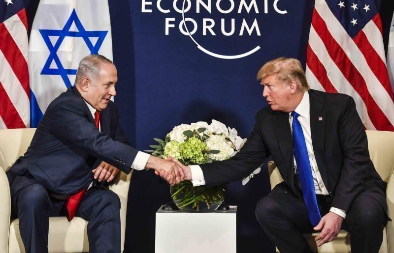 Trump llega a Davos para participar en el Foro Económico Mundial