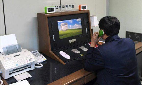 Línea telefónica directa entre las dos Corea. Foto: @InfoDiplomacia/ Twitter