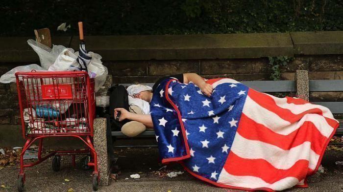 En Estados Unidos ha crecido el número de personas que duermen en las calles. Foto: AP