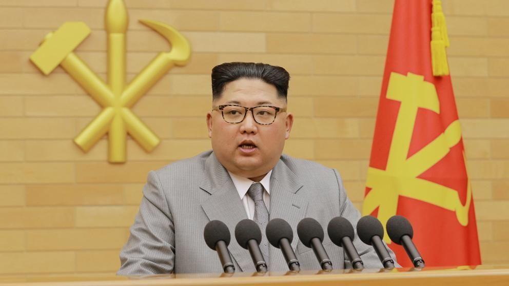 El líder norcoreano, Kim Jong-un, expresó en su mensaje de Año Nuevo su deseo de acercamiento con el Sur. Foto: Reuters.
