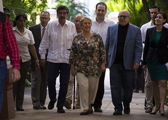 Visita de Bachelet a Cuba fortalecerá la colaboración económica y cultural