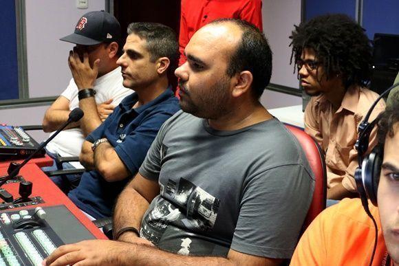 La dirección para TV estuvo a cargo de José Antonio López, de Canal Habana. Foto: Darío Gabriel Sánchez Gracía.