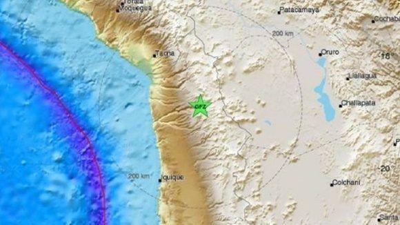 Sismo de 6,3 Richter se percibió en el norte del país