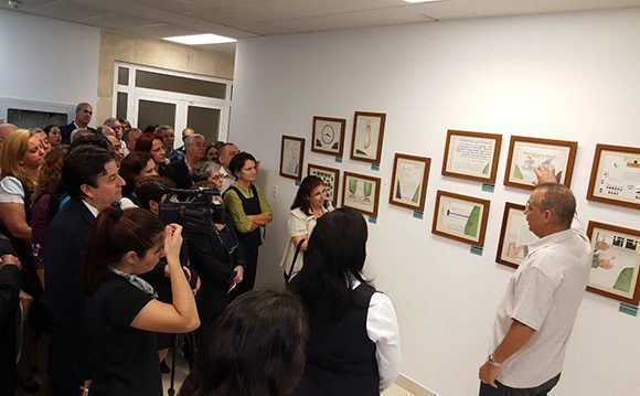 Inaugurated in Havana exhibition of watercolors of Antonio Guerrero