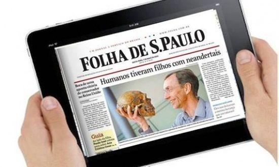 Diario brasileño Folha de S.Paulo deja de publicar en Facebook