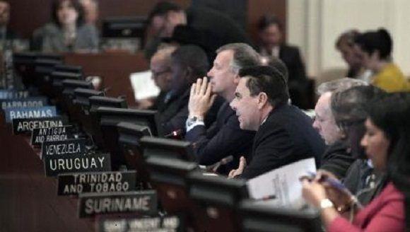 OEA exhorta a Venezuela postergar sus elecciones