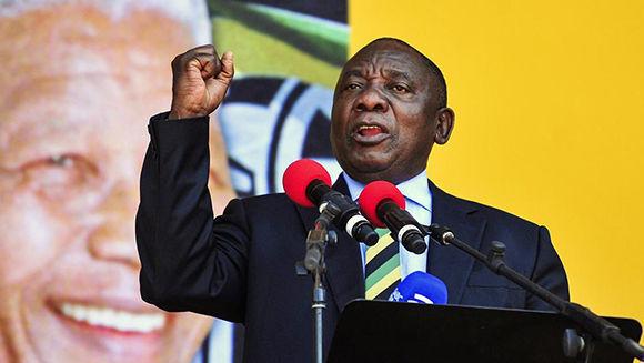 El parlamento confirmó este jueves a Cyril Ramaphosa como nuevo presidente de Sudáfrica. Foto: AP