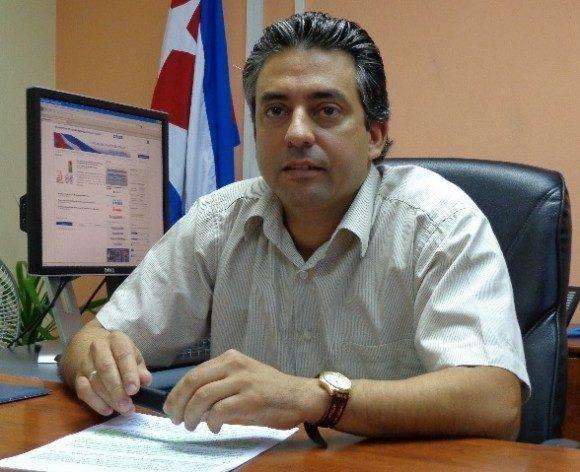 Viceministro de Comunicaciones Wilfredo González.