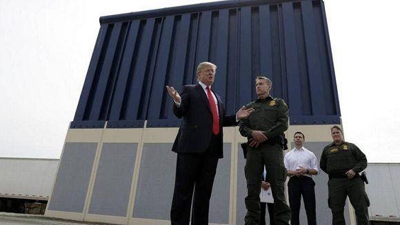 Trump anuncia la construcción inmediata del polémico muro fronterizo con México