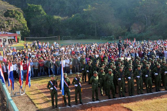Recuerdan aniversario 60 de la fundación del III Frente