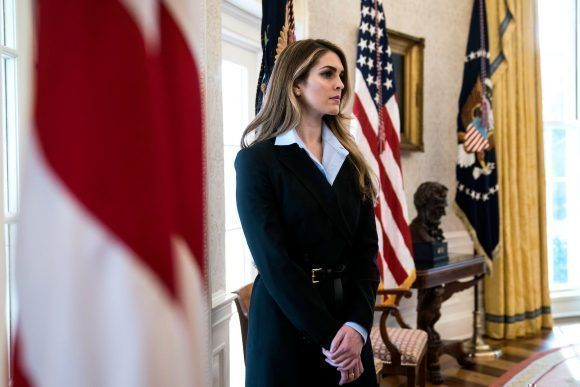 Hope Hicks. Foto tomada de Vanity Fair.