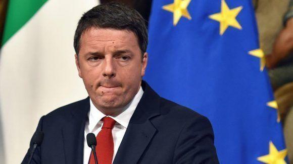 Renzi renunció como secretario general del PD, tras la derrota electoral