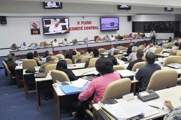 V Pleno del Comité Central del PCC