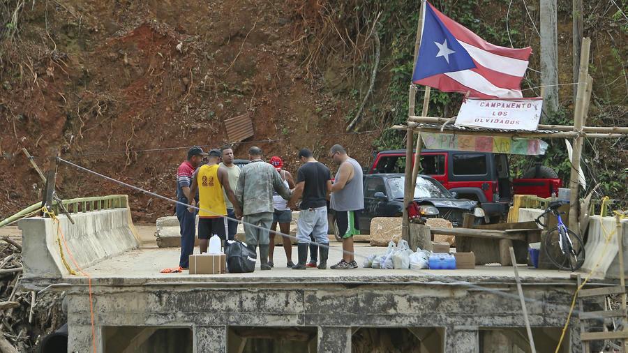 Puerto rico sigue golpeado a seis meses del paso del - Puerto rico huracan maria ...
