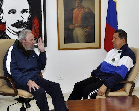 """Fidel Castro: """"Chávez es un educador infatigable"""""""