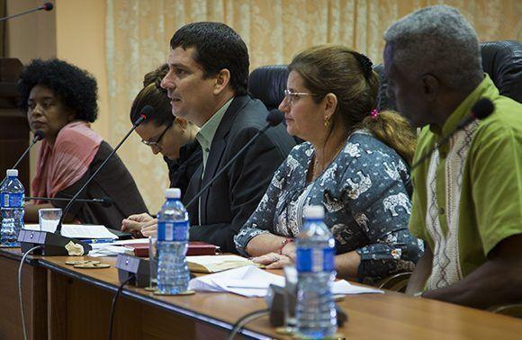 Fermín Quiñones leyó la Declaración Final del II Foro de Actores Sociales y de la Sociedad Civil Cubana Pensando Américas.