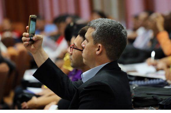 Inaugurado en el Palacio de las Convenciones Informática-2018. Foto: Ismael Francisco/ Cubadebate.