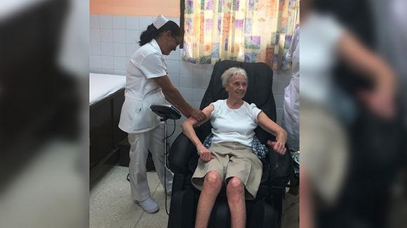 Judy Bryden, una canadiense que sobrevive al cáncer gracias a la vacuna cubana
