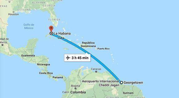 Cubanos deberán tramitar en Guyana sus visados de tipo migratorio para Estados Unidos