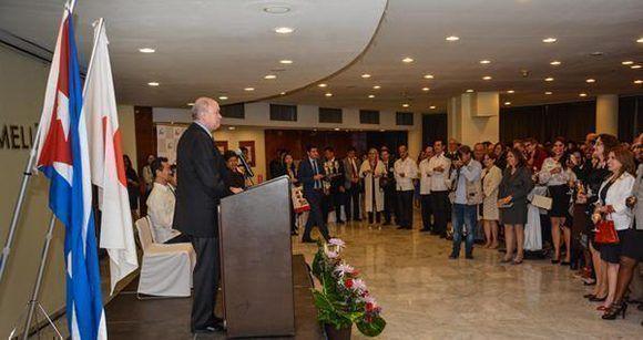 El acto inaugural fue en el hotel Meliá Habana y la oficina de JICA se ubica justo al frente, en el Centro de Negocios de Miramar. Foto: Marcelino Vázquez/ ACN.