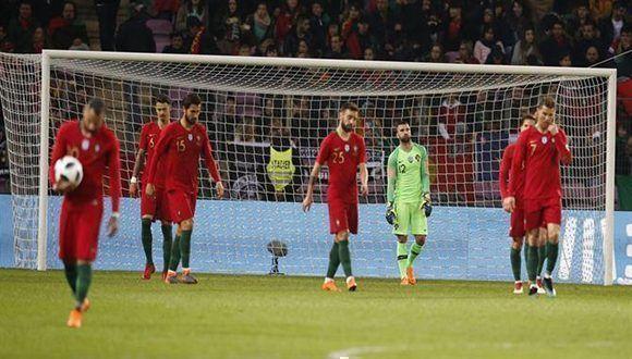 Las rotaciones pasaron facturas a Portugal que terminó goleada ante  Holanda. Foto  A Bola. 30580aca6716b