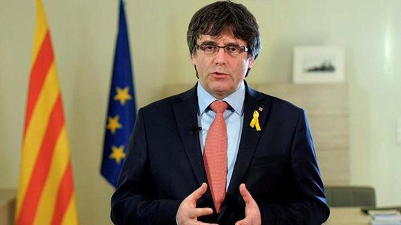 Parlamento de Cataluña presenta enmienda de independencia