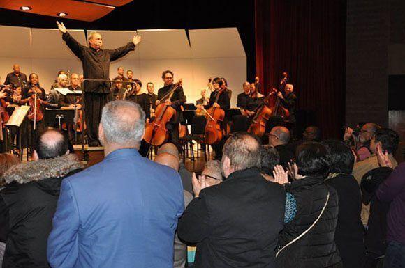 Ovacionada en  Nueva York la Orquesta Sinfónica de Cuba