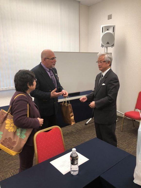 Presidente del INDER dialoga en Japón sobre temas de intercambio deportivo