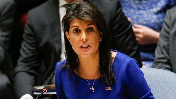 Renuncia la embajadora de Estados Unidos ante la ONU