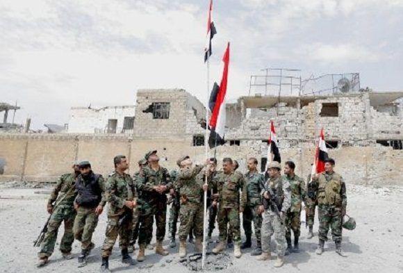 Régimen sirio lanzó nueva ofensiva contra el último enclave del Estado Islámico