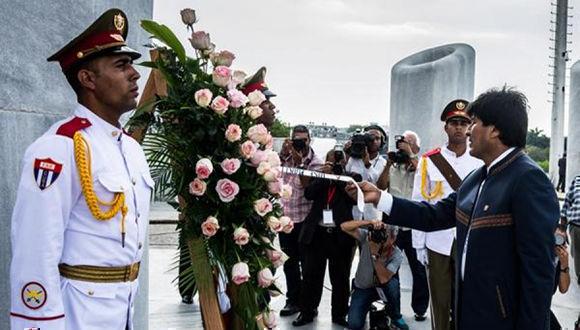Evo Morales llegará este domingo a Cuba en visita oficial
