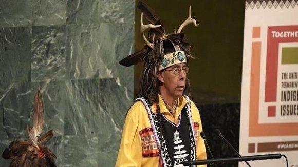 Abre foro indígena en ONU con la presencia del presidente boliviano