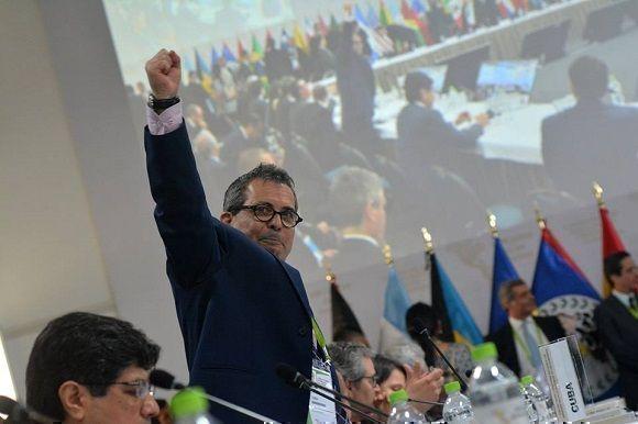 Denuncia Cuba alineamiento de la OEA con contrarrevolucionarios