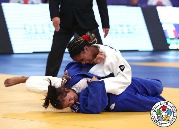 Judoca cubana Acosta logra bronce en Open de Europa
