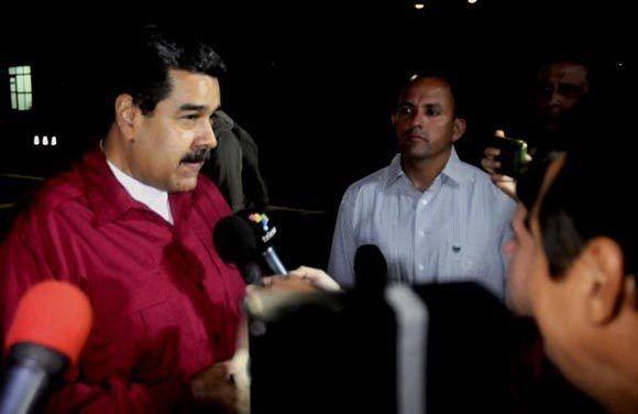 Maduro se reunirá con Miguel Díaz-Canel. Foto: Oriol de la Cruz/ ACN.