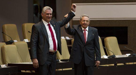 Confía Raúl Castro en éxito de nuevo Presidente del Consejo de Estado.