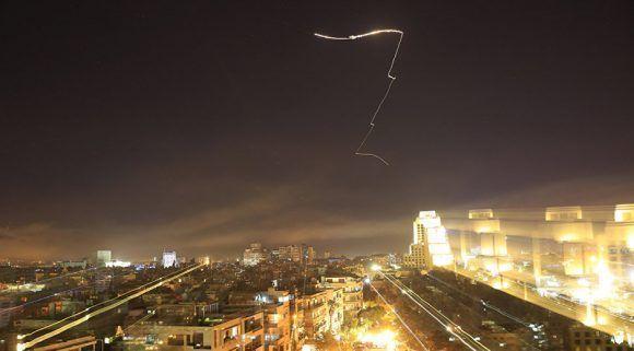 Ataque de países occidentales contra Siria